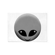 alien head 5'x7'Area Rug