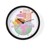 Duck - Bath Wall Clock