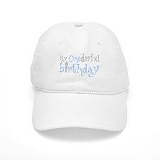 My Onederful Birthday (boy) Baseball Cap