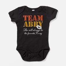 Team Abby Baby Bodysuit