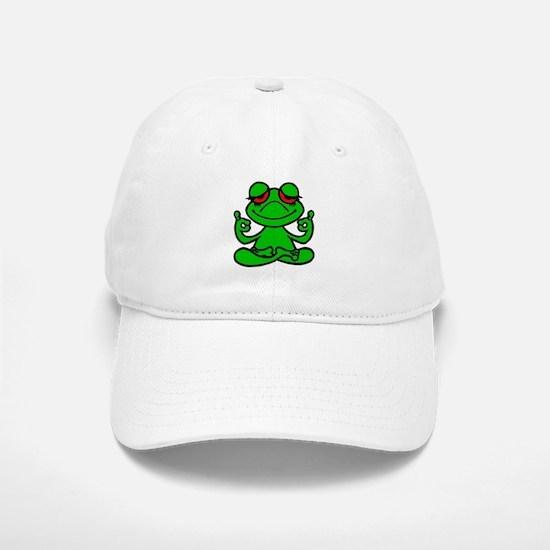 Frog Lotus Baseball Baseball Baseball Cap