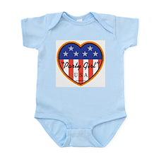 "Party Girl USA ""Hot"" Infant Bodysuit"