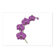Purple Orchid Postcards (Package of 8)