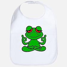 Frog Lotus Bib