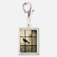 The Window Silver Portrait Charm