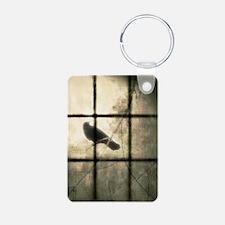 The Window Aluminum Photo Keychain