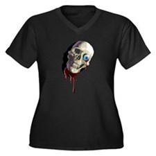 Skull and Eyeball Plus Size T-Shirt