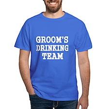 GROOMS DRINKING TEAM 2 T-Shirt