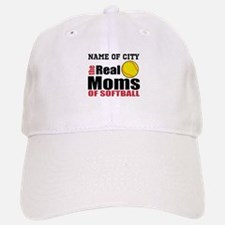 Personalize Softball Mom Baseball Baseball Cap