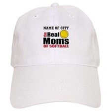Personalize Softball Mom Baseball Cap