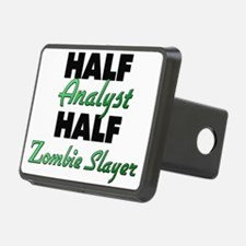 Half Analyst Half Zombie Slayer Hitch Cover
