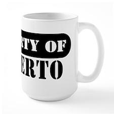Property of Filiberto Mug