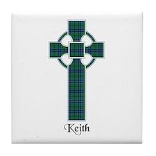 Cross - Keith Tile Coaster