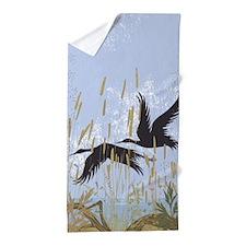 Wild Birds Beach Towel