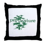 Pro Nature Graphic Throw Pillow