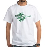 Pro Nature Graphic White T-Shirt