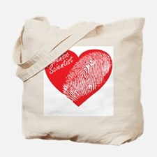 Latent Heart Tote Bag
