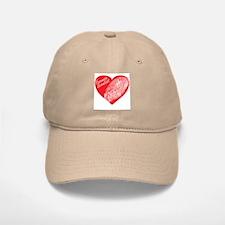 Latent Heart Baseball Baseball Cap