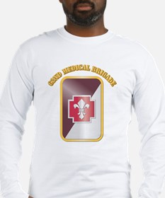SSI - 62nd Medical Brigade with text Long Sleeve T
