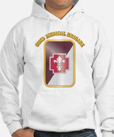 SSI - 62nd Medical Brigade with text Hoodie
