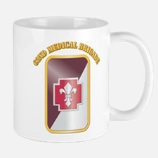 SSI - 62nd Medical Brigade with text Mug