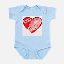 Latent Heart Infant Bodysuit