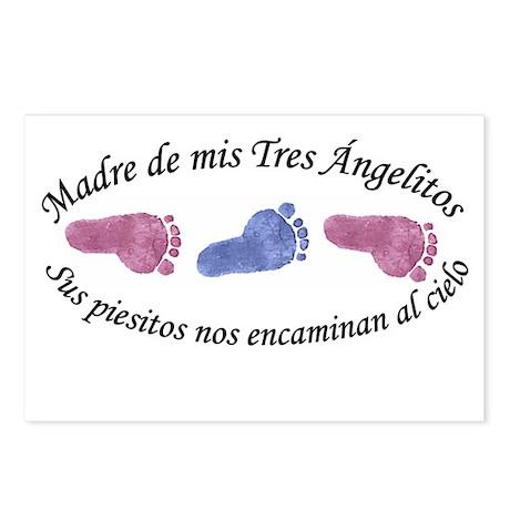 Madre de Tres Angelitos GBG Postcards (Package of