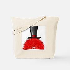 Top Hat/Fan 2 Tote Bag