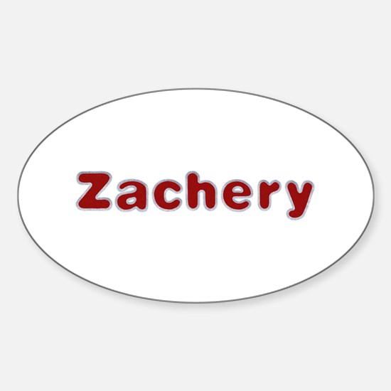 Zachery Santa Fur Oval Decal