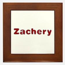 Zachery Santa Fur Framed Tile