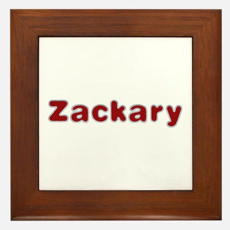 Zackary Santa Fur Framed Tile