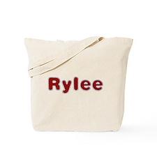 Rylee Santa Fur Tote Bag