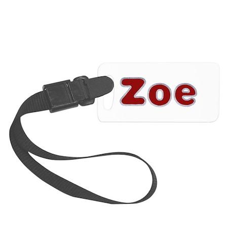 Zoe Santa Fur Small Luggage Tag