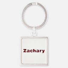 Zachary Santa Fur Square Keychain