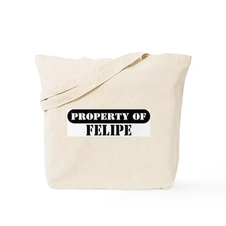 Property of Felipe Tote Bag