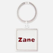 Zane Santa Fur Square Keychain