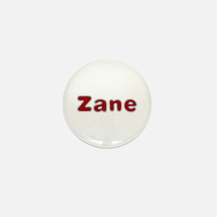 Zane Santa Fur Mini Button