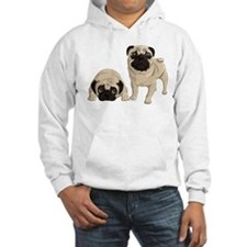 Pugs Hoodie Sweatshirt