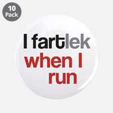 """Funny I FARTlek © 3.5"""" Button (10 pack)"""