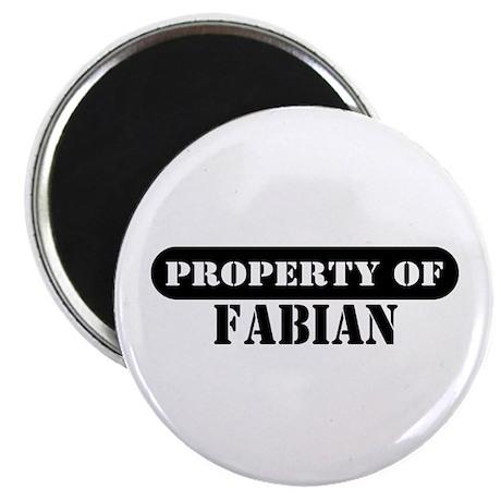 Property of Fabian Magnet