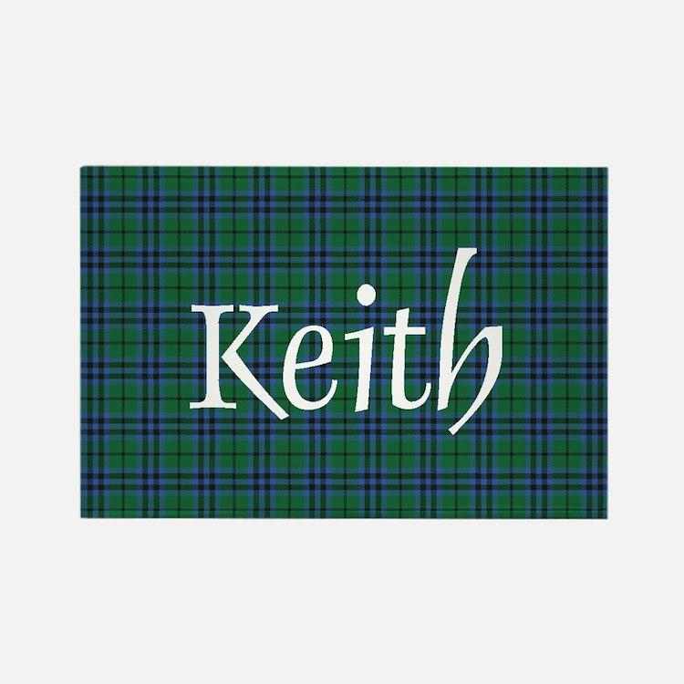 Tartan - Keith Rectangle Magnet