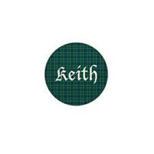 Tartan - Keith Mini Button