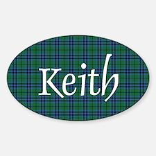 Tartan - Keith Decal