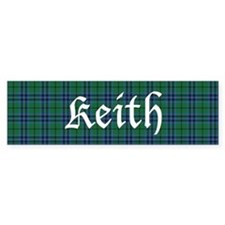Tartan - Keith Bumper Sticker