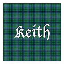 "Tartan - Keith Square Car Magnet 3"" x 3"""