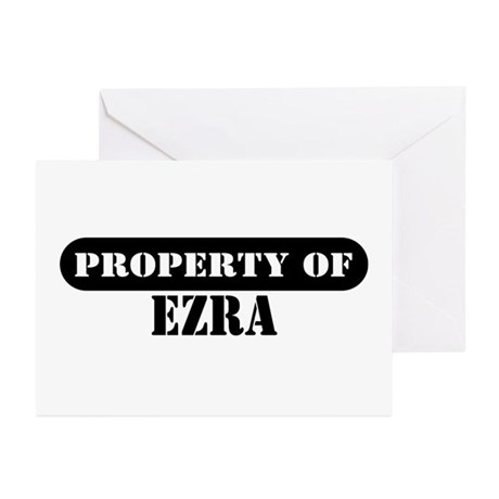 Property of Ezra Greeting Cards (Pk of 10)