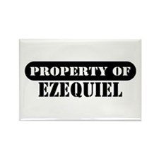 Property of Ezequiel Rectangle Magnet
