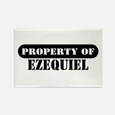 Property of Ezequiel Rectangle Magnet
