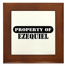 Property of Ezequiel Framed Tile