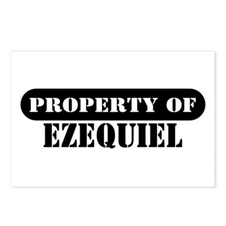Property of Ezequiel Postcards (Package of 8)